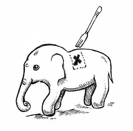 Building a private blog network is like eating an elephant...